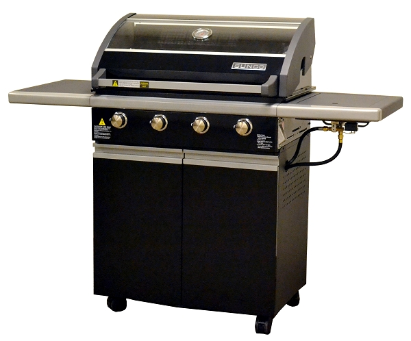 Sole 4 burner grill on a cart for Sunco bbq
